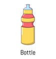 sport bottle icon cartoon style vector image vector image