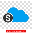 Banking Cloud Icon vector image vector image