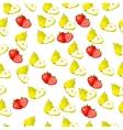 fresh strawberryand slice vector image
