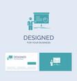 graph meeting presentation report seminar vector image