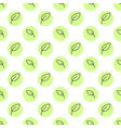seamless floral pattern with small leaves vector image