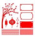 Happy chinese new year 2015 decoration element for vector image