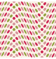 altered polka dot vector image vector image