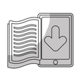 book download related icons image vector image vector image