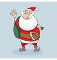 Cute Santa Clause hand drawn vector image vector image