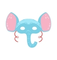 Elephant Animal Head Mask Kids Carnival Disguise vector image vector image