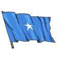 flag of Somalia vector image vector image