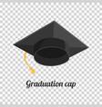 graduation cap or hat vector image