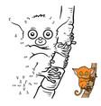 numbers game tarsier vector image vector image