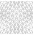 seamless cloudy wave dragon fish scales pattern vector image