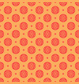 seamless pattern with a chinese prosperity symbol vector image vector image