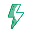 silhouette energy hazard sign to electrical vector image