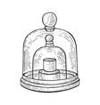 standard kilogram sketch engraving vector image vector image