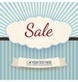 Vintage Poster Sale vector image vector image