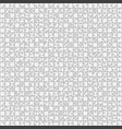625 grey outline background jigsaw puzzle banner vector image vector image