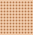 abstract geometric pattern brown diamonds vector image vector image