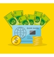 economy and savings vector image