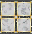 marble texture luxury check seamless vector image