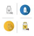 pet medicine icon vector image vector image