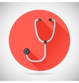 Physician Therapist Care Survey Symbol Stethoscope vector image vector image