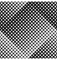 seamless black and white geometrical circle vector image vector image