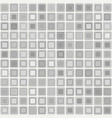 seamless pattern of bright silver squares vector image vector image