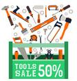 sale repair tools vector image