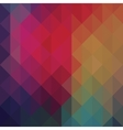 Triangle neon geometric background vector image