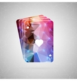 Abstract creative concept For web and vector image vector image
