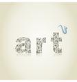 art2 vector image