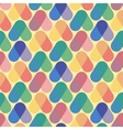 Colorful seamless pattern retro style vector image vector image