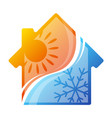 house air conditioner vector image vector image