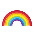 icon rainbow vector image vector image