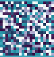 pixel pattern seamless square background vector image vector image