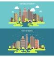 Spring summera City vector image