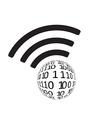 Wifi icon app vector image vector image