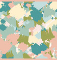 abstract spots seamless pattern stylized creative vector image vector image