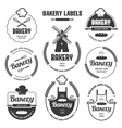 Bakery labels 1 vector image vector image