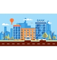 bank number one vector image vector image