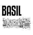 basilar migraines text background word cloud vector image vector image
