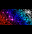 blue and red tricolor background in lights and vector image vector image
