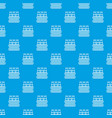 bottles milk pattern seamless blue vector image vector image