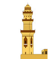 minaret tower vector image