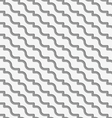 Perforated diagonal waves vector image vector image