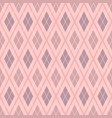 pink geometric background for fabric vector image