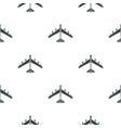 plane pattern flat vector image vector image