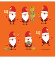 Santa Claus collection vector image