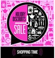 festive sales vector image