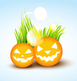 funny halloween design vector image vector image