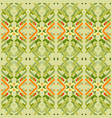 geometric embroidery vector image
